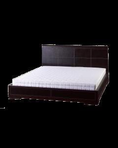eleganckie łóżko do sypialni produkcji Vinotti
